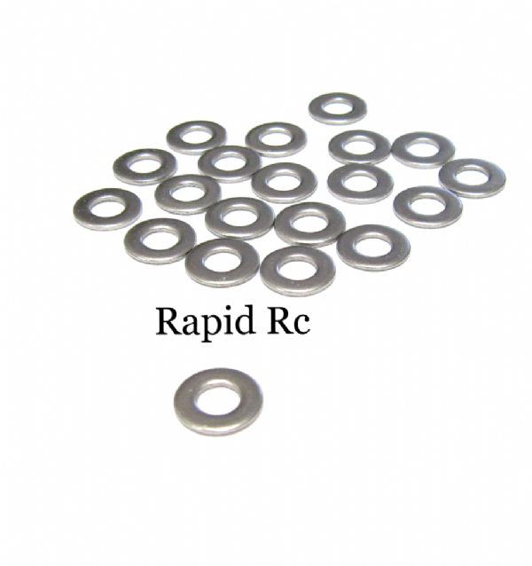 M4 Stainless Steel Flat Washer A2 4mm